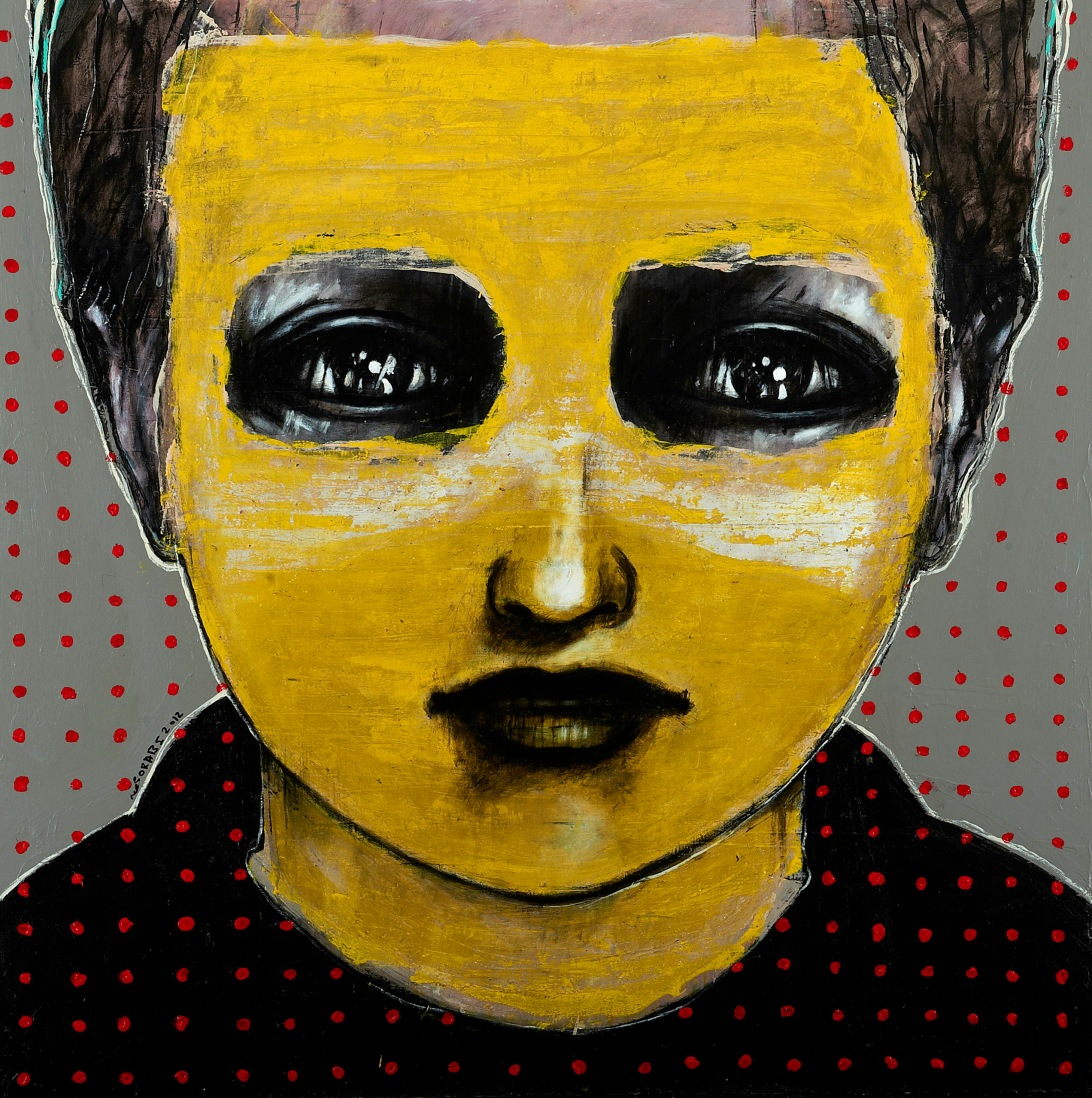 """""""It's No Longer About Me"""" Medium: Mixed Media on Canvas. 2012"""