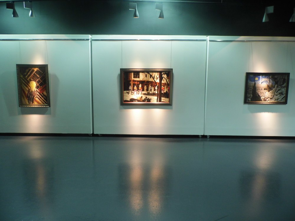 Artworks from 'Syrian Museum' section.