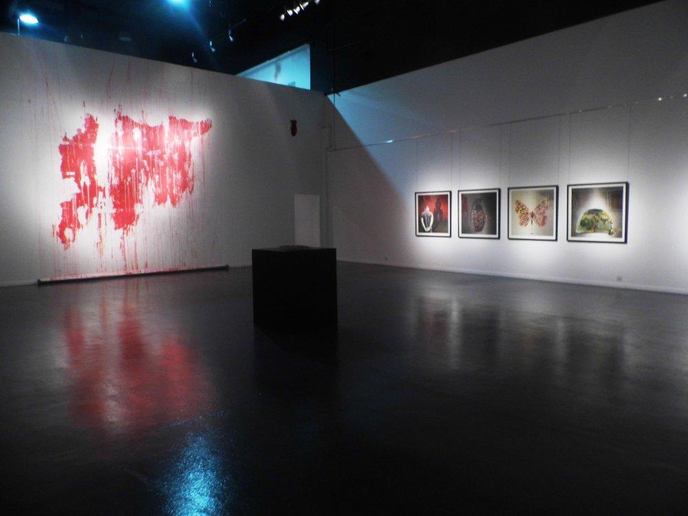The Mural of 'Bleeding Syria'