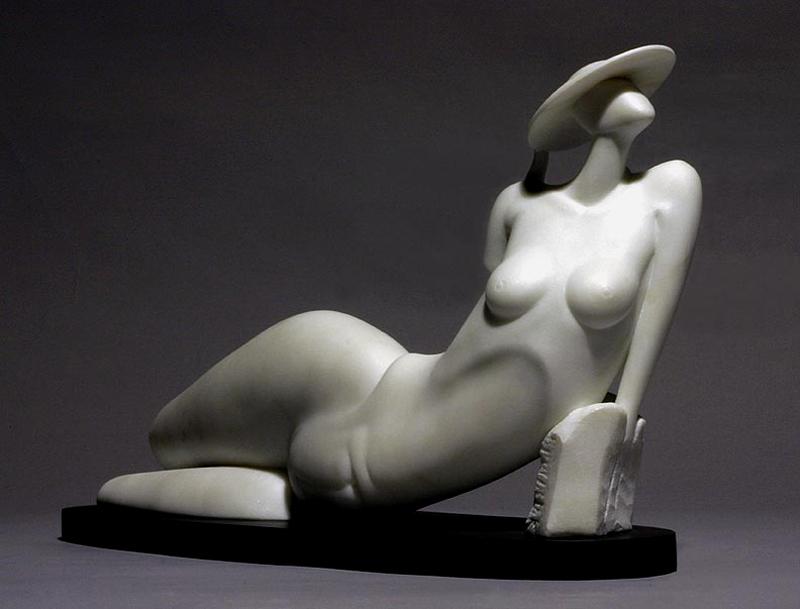 Béla Bcsi 'L'Estate Marble' 2008 Curtsey to American Legacy Fine Arts
