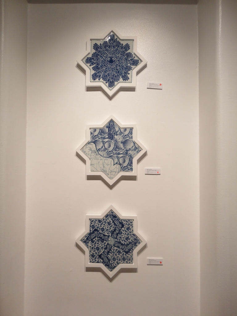 'China Trade Tile' Series by William Anderson