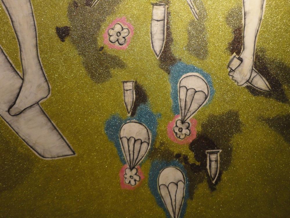 Details from Nadim Karam artwork