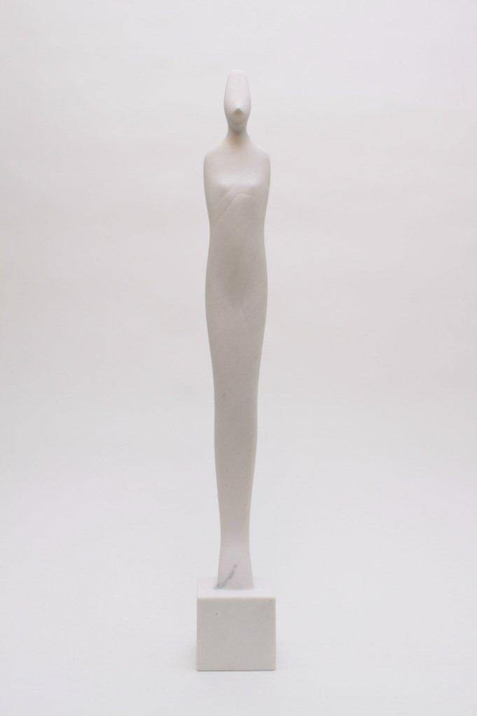 "Toshinobu Sugimoto ""Phantasm"" Macedonian Marble 2012. Curtsey to Watanabe Gallery."