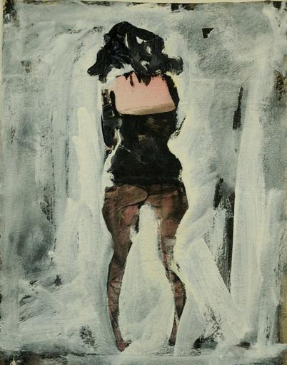 Artwork by Tarek Butayhi, Acrylic on Canvas, 2012.