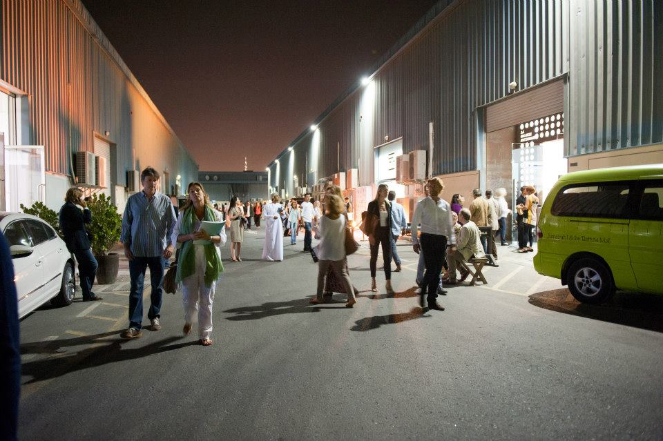 AlSerkal Avenue Art Night. Courtesy: Alserkal Avenue