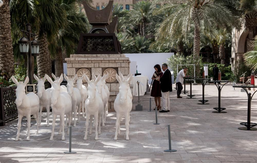 Ehsan Ul Haq 'History Lessons I' Art Dubai Projects 2013