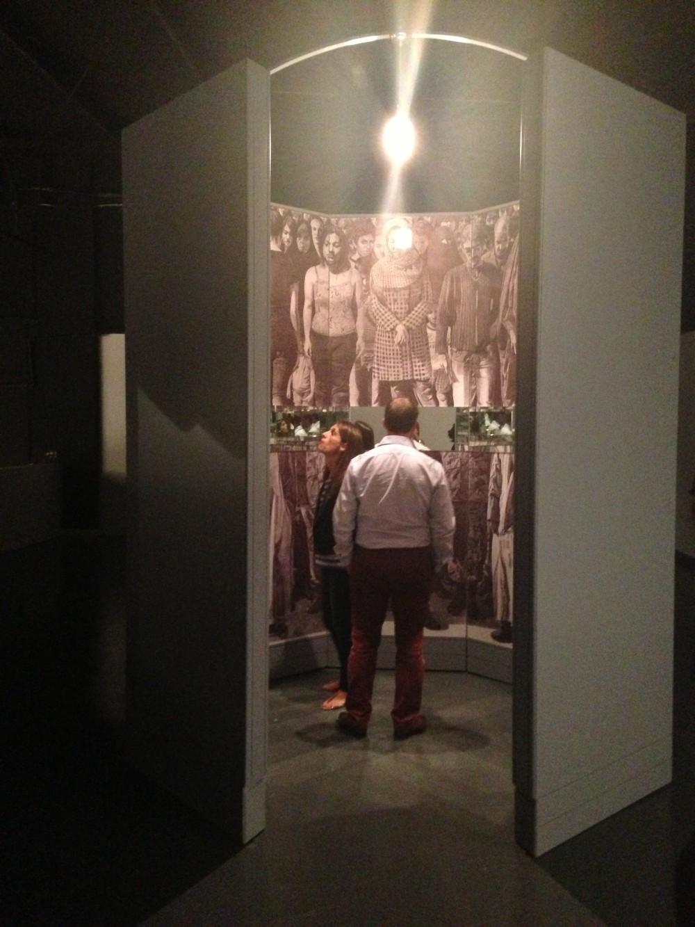 Ahmad Morshedloo installation