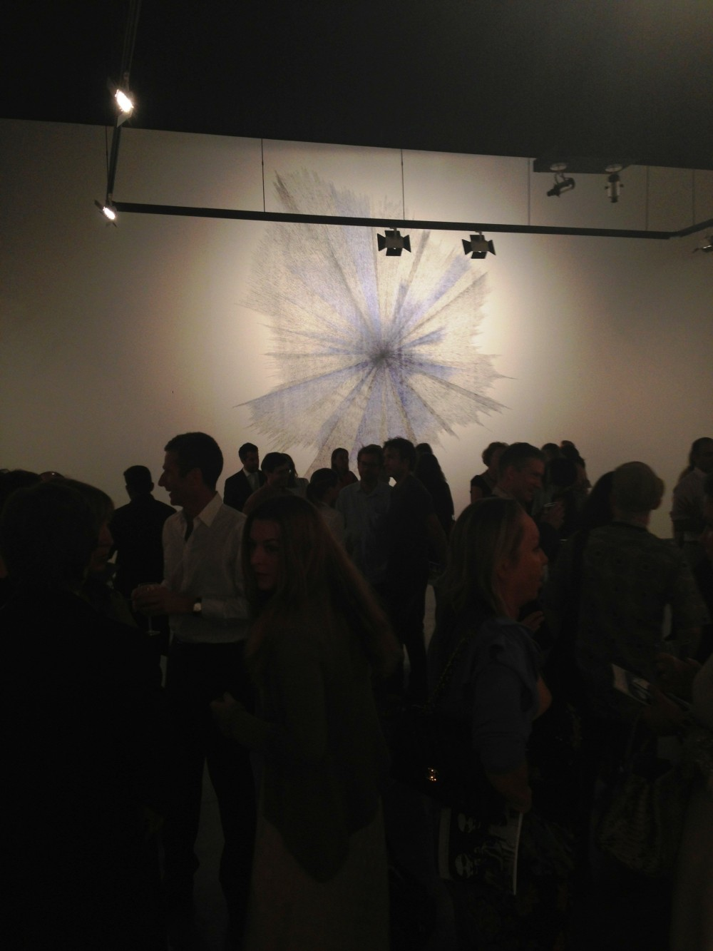 "Opening of Idris Khan ""The Begining of the End"" at Isabelle Van den Eynde"