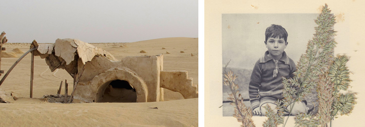 Left: Rä di Martino, No More Stars (Star Wars), Lambda Print | Right: Nedim Kufi, Jaffa (Untitled), C-Type Print. Courtesy: Summeria Lunn Gallery
