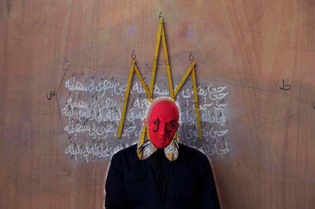 Faisal Samra, Azazeel- Satan, 2010, one of Triptych (120 x 180 cm. each), Lambda Print. Edition of 5 + 1 AP.