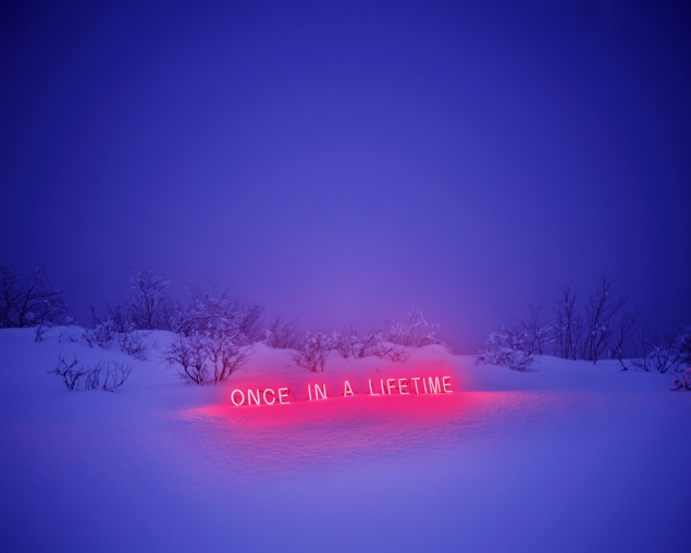 "Jung Lee ""Once In a Lifetime"" C type Print 136x170cm, 2011. Courtesy: Green Art Gallery"