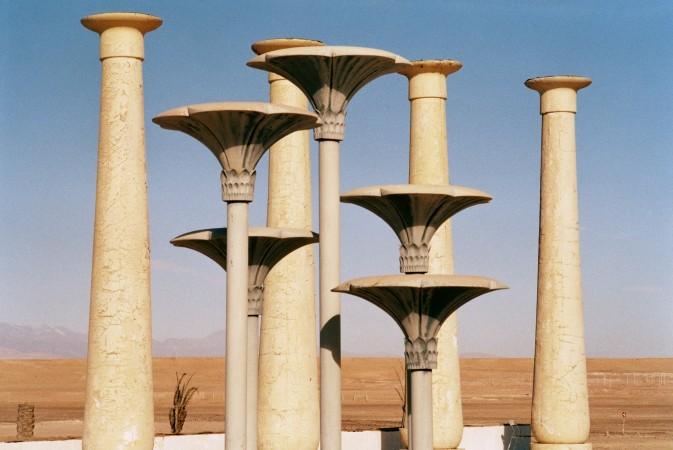 Rä di Martino, Copies récentes de paysages anciens (Film studios, Marocco), 2012 Courtesy l'artista e Monitor, Roma