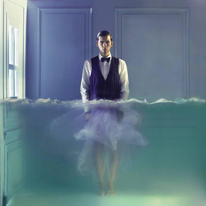 "Lara Zankoul ""Feminine Side"" Photography, 100x100cm, 2013"