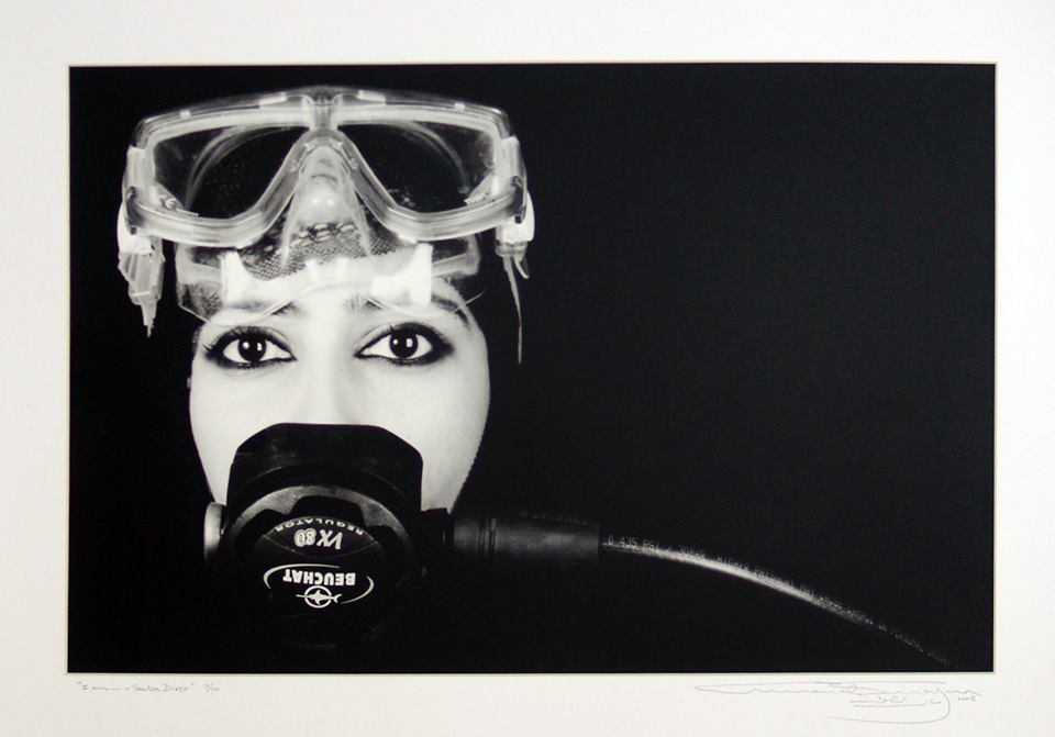 "Manal Al Dowayan (KSA) ""I am... a Scuba Dive"" Banned by Saudi Authority"