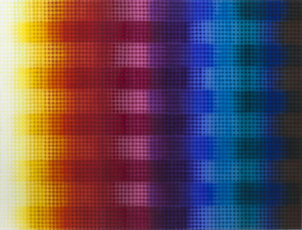 Li Shurui, Inner Rainbow, 2011, acrylic on canvas, (180 x 240 cm) Courtesy to: RFC
