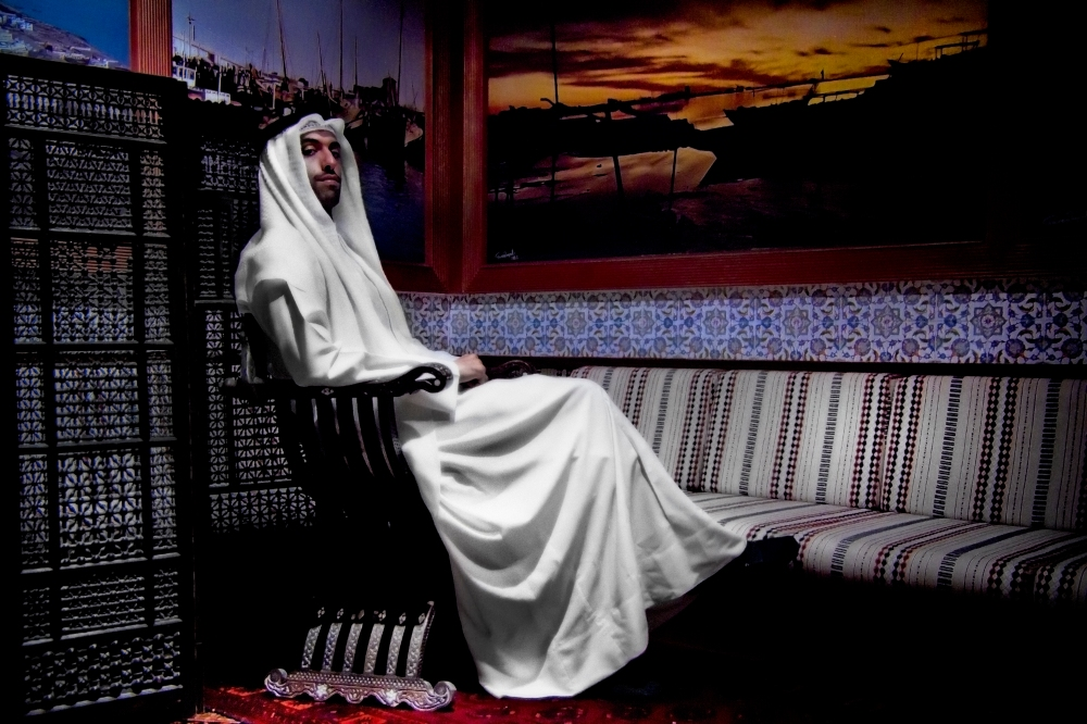 "Tareq Sayed Rajjab ""Diwan Al-Sayyid Rajab, 2013"" from The Grace of Men series"