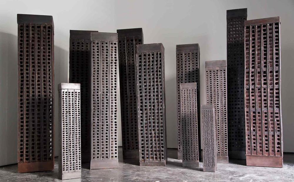 Ginane Makki Bacho 'Burj el Murr' 2012-2013 Courtesy: Ayyam Gallery