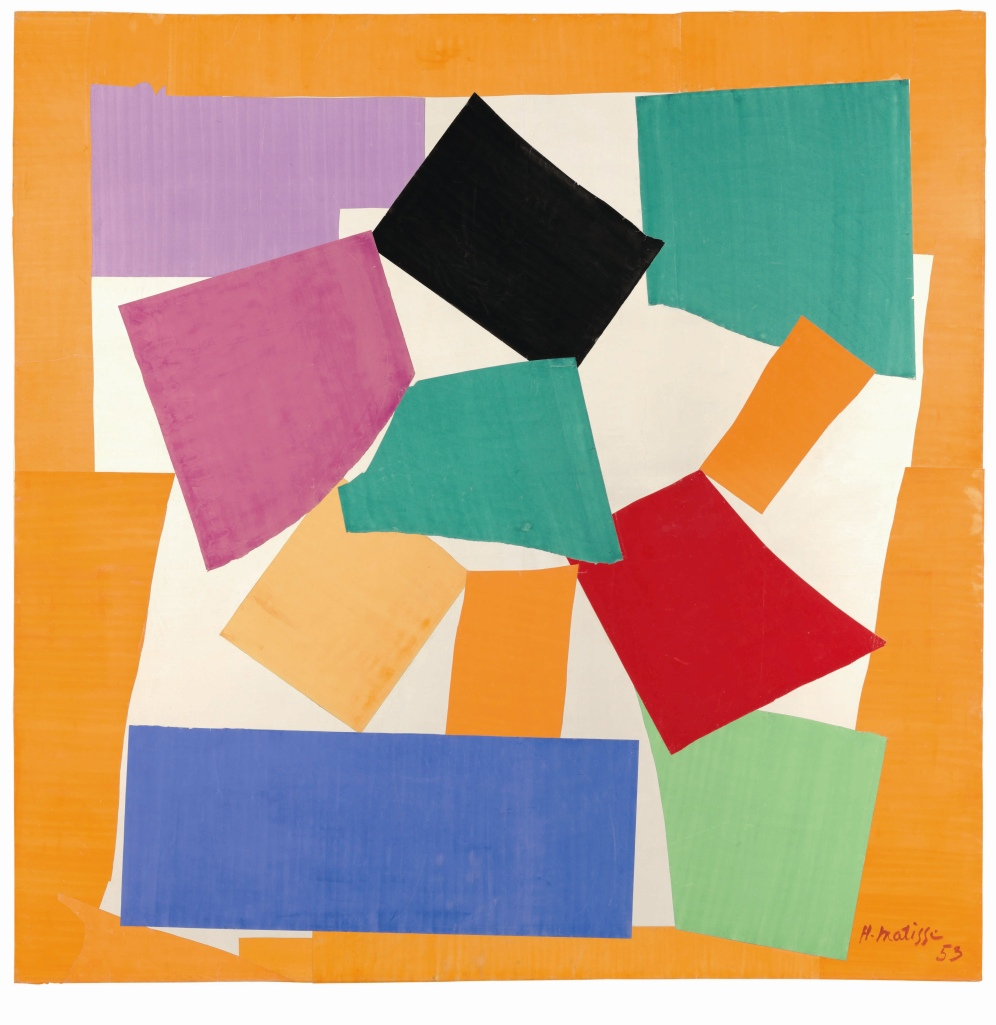 Henri Matisse 'The Snail' 1953. © Succession H. Matisse / DACS 2014. Courtesy to Tate Modern