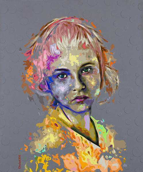 Elias Izoli 'Untitled' 2013, Acrylic on canvas 120 x 100 cm, signed and dated. Courtesy: Ayyam Gallery