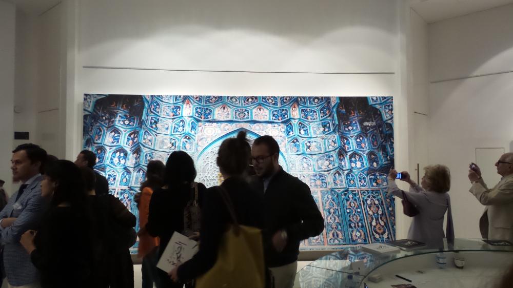 Ayyam Gallery. DIFC Art Night 2014. Courtesy Al Mahha Art