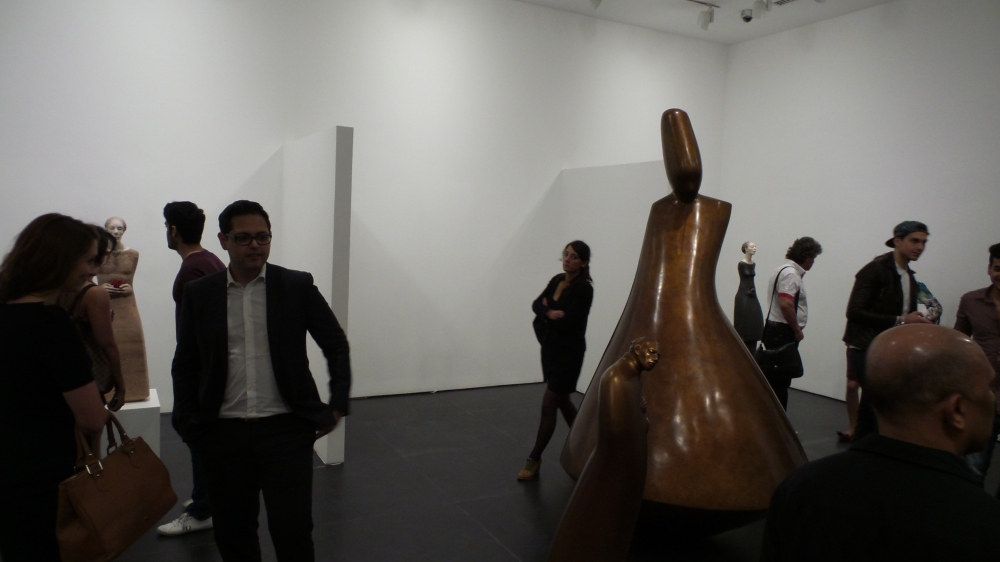 Art Space. DIFC Art Night 2014. Courtesy Al Mahha Art