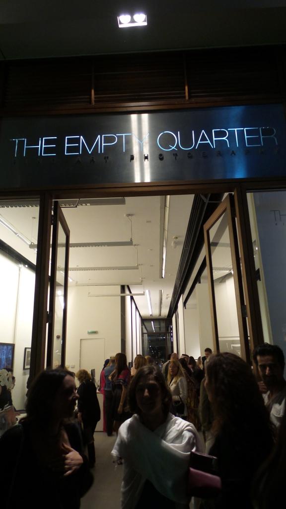 The Empty Quarter. DIFC Art Night 2014. Courtesy Al Mahha Art