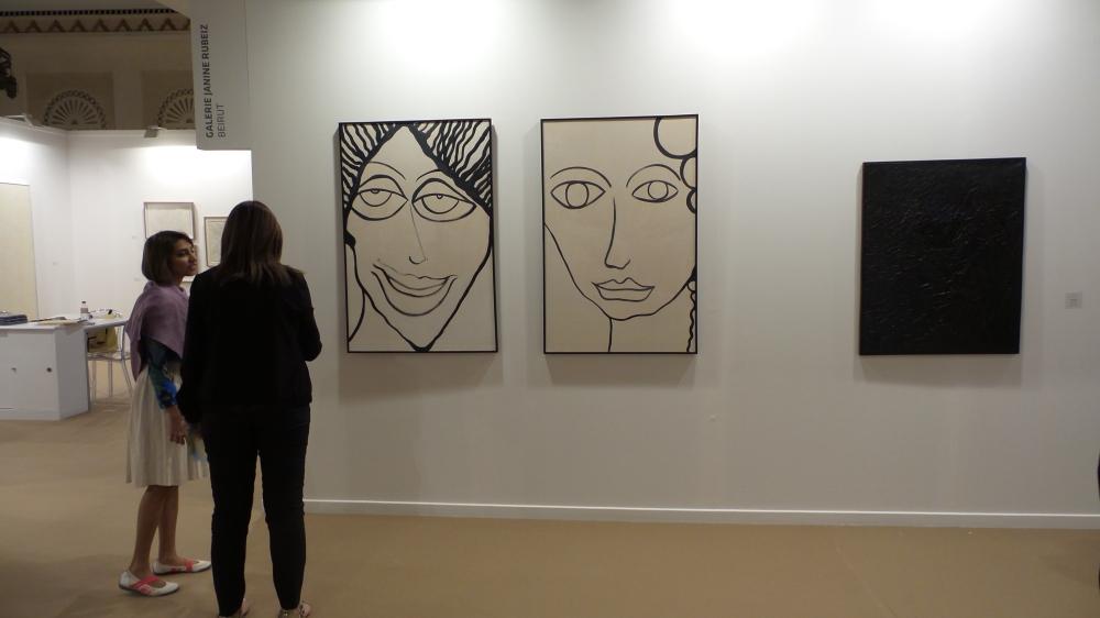 Art Dubai Press Tour [Modern Art]. Courtesy to Al Mahha Art