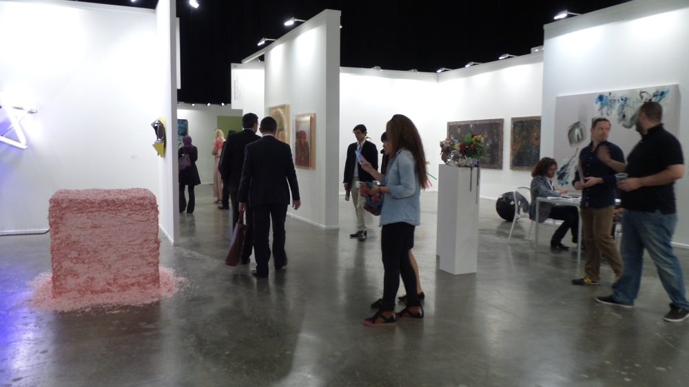 Art Dubai Press Tour [Contemporary Art]. Courtesy to Al Mahha Art