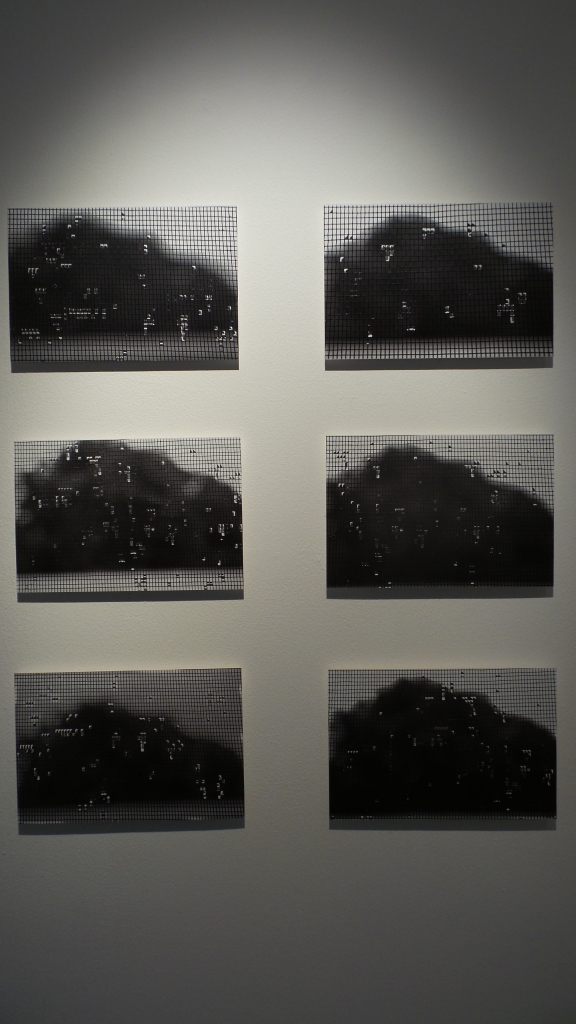 "Maitha Demithan ""Rain Grids"" 2013, digital prints, size varuable. Courtesy to Al Mahha Art"