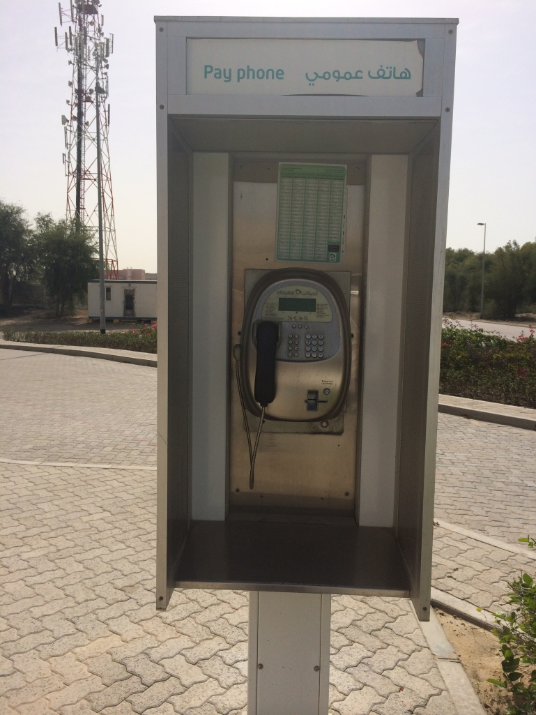 Arriving at Tashkeel and my love at first sight is the Telephone booth which actually works! Courtesy to Al Mahha Art