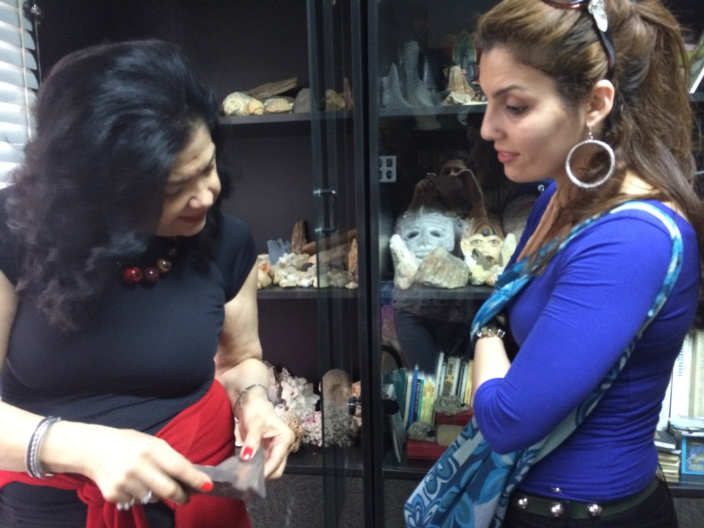 Ginane explains to Alice about one of her Gems and the passion she has for them!