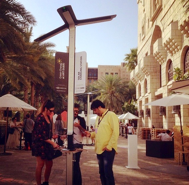 STREET CHARGE in Middle East. Courtesy to StreetChargerME