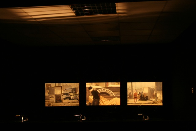 "Reza Aramesh, ""Action 136"" 2014, installation view. Courtesy: Leila Heller Gallery."