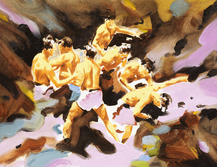 Artwork by Norbert Bisky. Courtesy: Galerie Daniel Templon
