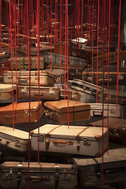 Chiharu Shiota's Small Room installation